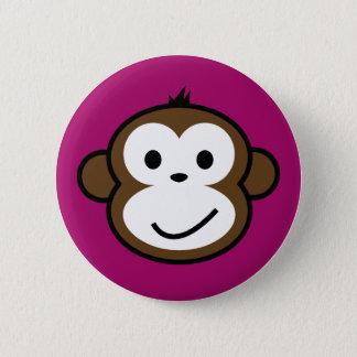 Cheeky Monkey [purple] Button