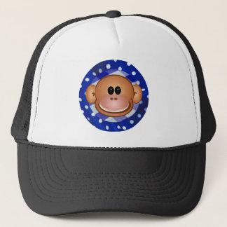 Cheeky Monkey Trucker Hat