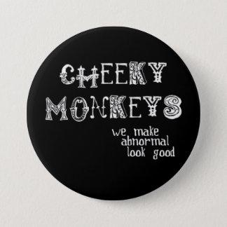 Cheeky Monkeys Button