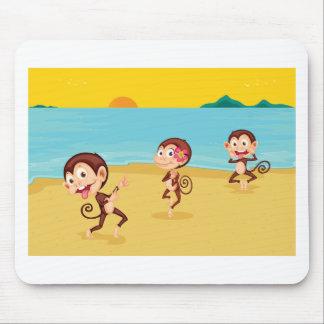 cheeky monkeys mousepads