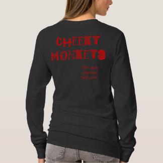 Cheeky Monkeys - Red T-Shirt