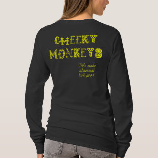 Cheeky Monkeys - Yellow T-Shirt