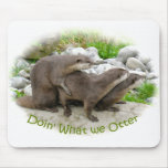 Cheeky Otters Mouse Mats