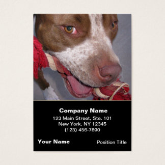 Cheeky Pitbull Business Card