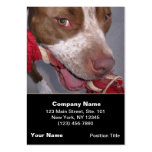 Cheeky Pitbull Large Business Cards (Pack Of 100)