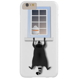 Cheeky raccoon barely there iPhone 6 plus case