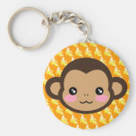 Cheeky Saru Key Chain