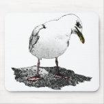 Cheeky Seagull Mousepad