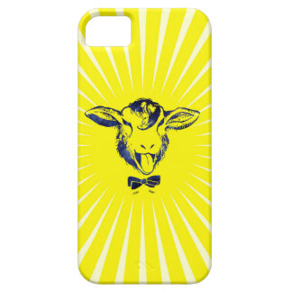 Cheeky sheep with a bow tie iPhone 5 cases