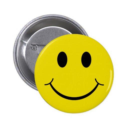 Cheeky Smiley Pin