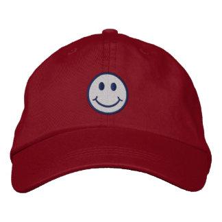 Cheeky Smiley Embroidered Baseball Cap