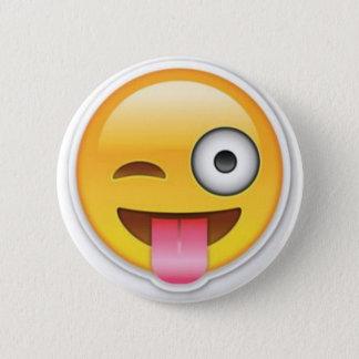 Cheeky Smiley emoji wink Button