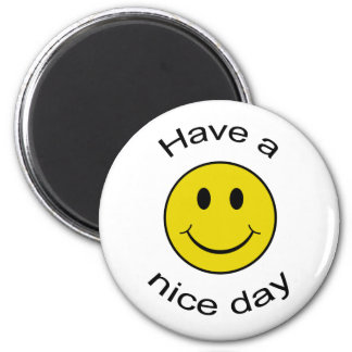 Cheeky Smiley 2 Inch Round Magnet