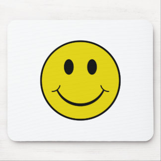 Cheeky Smiley Mouse Pad