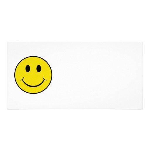 Cheeky Smiley Photo Card