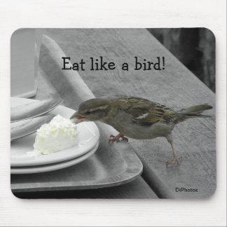 Cheeky Sparrow Mousepad