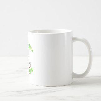 cheeky vegan im just a nut sack. coffee mug