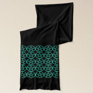Cheeky Witch Pentacle Pentagram Pagan Wiccan Scarf