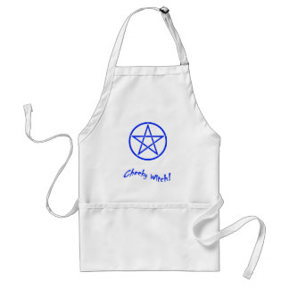 Cheeky Witch Star Collection (Blue) Adult Apron
