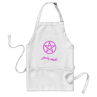 Cheeky Witch Star Collection (Pink) Adult Apron