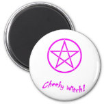 Cheeky Witch Star Collection (Pink) Fridge Magnet