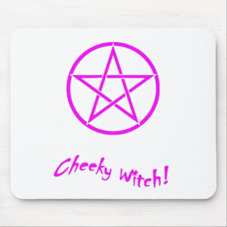 Cheeky Witch Star Collection (Pink) Mouse Pad