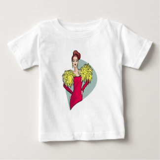 Cheeleader Girl Baby T-Shirt