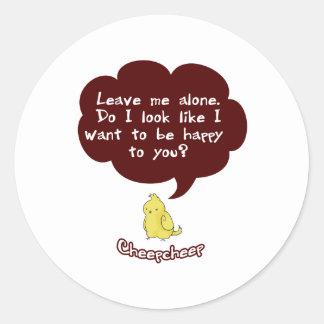 Cheepcheep's Grumpy Sticker