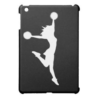 Cheer 1 iPad Case White on Black