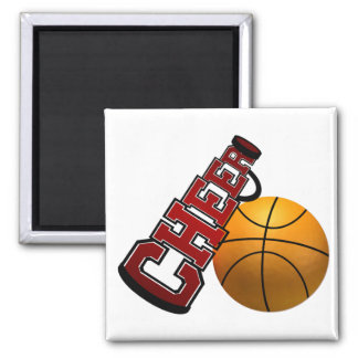 Cheer 2 Inch Square Magnet