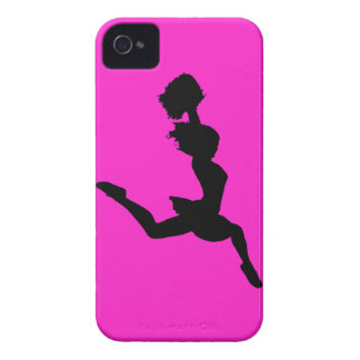Cheer 2 iPhone 4 Case Black on Pink