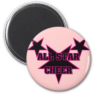 Cheer Allstar 2 Inch Round Magnet