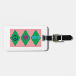 Cheer Argyle Tags For Luggage
