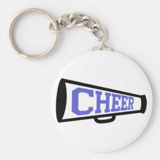 Cheer Basic Round Button Keychain