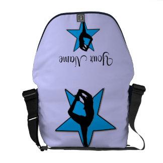 Cheer Blue star Rickshaw Zero Messenger Bag