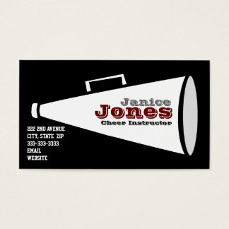 Cheer Business Card
