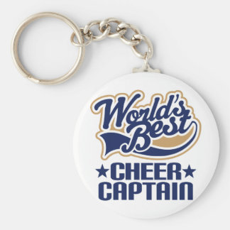 Cheer Captain Gift Keychain