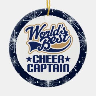 Cheer Captain Gift Ornament