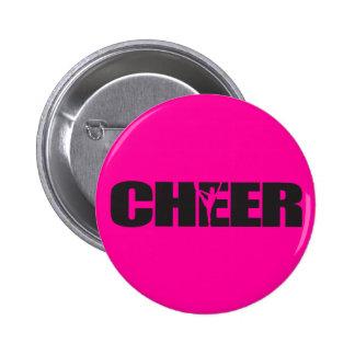 Cheer Cheer leader Cheerleading Pinback Button