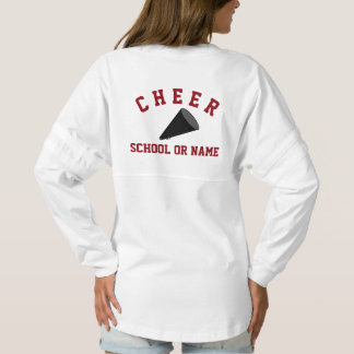 Cheer & Cheerleading Squad School Name Custom Spirit Jersey