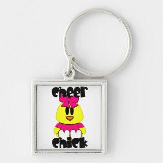 Cheer Chick Cheerleader Keychain