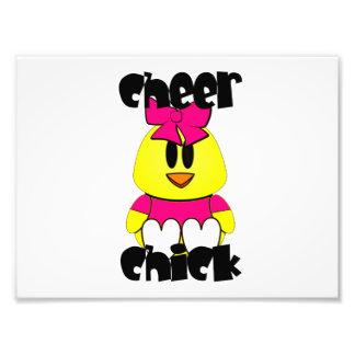 Cheer Chick Cheerleader Photo Print