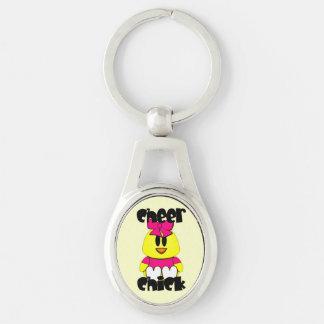 Cheer Chick Cheerleader Key Chains
