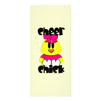 Cheer Chick Cheerleader Rack Card