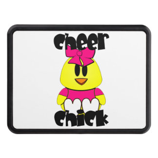 Cheer Chick Cheerleader Trailer Hitch Cover