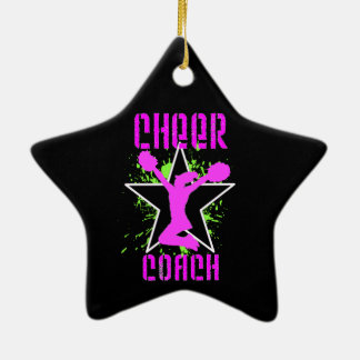 Cheer Coach Ceramic Ornament