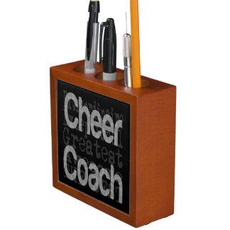 Cheer Coach Extraordinaire Desk Organizer