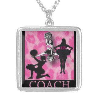 CHEER COACH, original art cheer coach's pendant