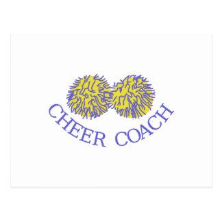 Cheer Coach Postcard