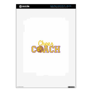Cheer Coach Skins For iPad 3